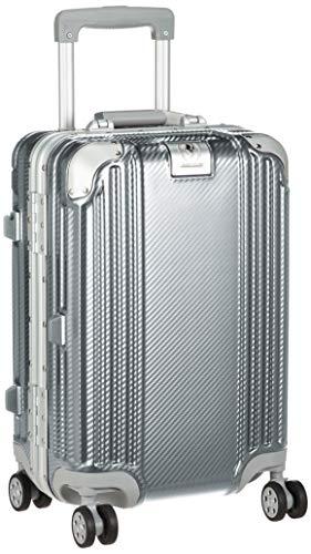 [レジェンドウォーカー] スーツケース 機内持ち込み可 保証付 35L 48 cm 3.7kg シルバーカーボン