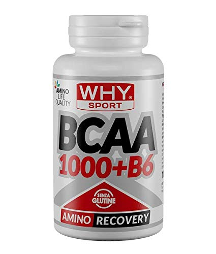 Why Sport BCAA 1000+B6 105 Grams 100 Compresse