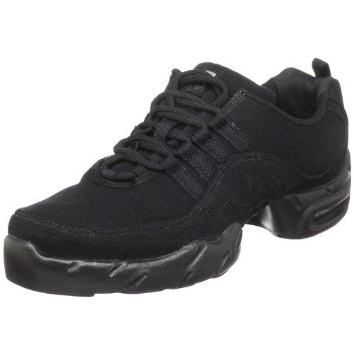 Bloch Women's Canvas Boost Sneaker, Black, 10