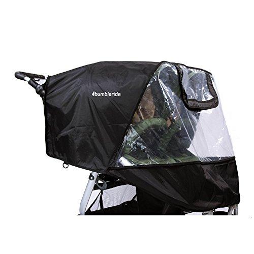 Bumbleride Indie Twin Non-PVC Rain Cover, NA