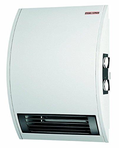 Stiebel Eltron CKT 15E 120-Volt 1500-Watts Wall Mounted Electric Fan Heater with 60 Minute Timer