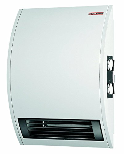 Stiebel Eltron CKT 15E 120-Volt 1500-Watt Wall Mounted Electric Fan Heater with 60 Minute Boost Timer Electric Heater Space