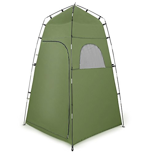 Portable Privacy Tent, Terra Hiker Portable Camping Toilet Tent, Changing Room Tent, Outdoor Waterproof with Windows Private Beach Tent