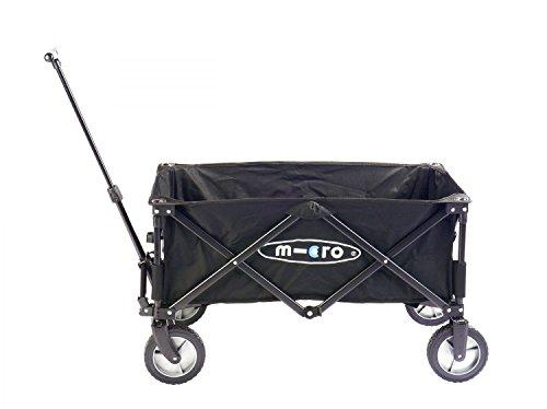 Micro Mobility MW0001 Poussette Mixte Adulte, Noir, 40 x 20 x 80 cm