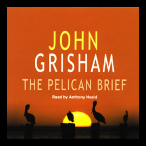 The Pelican Brief audiobook cover art