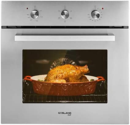 Electric Single Wall Oven GASLAND Chef ES606MS 24 Built in Electric Ovens 240V 2000W 2 3Cu f product image