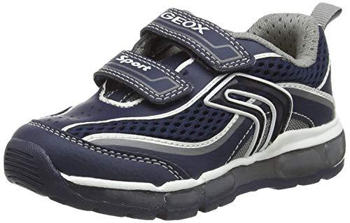 Geox J Android Boy C Sneaker, Blau (Navy/Grey C0661), 33 EU
