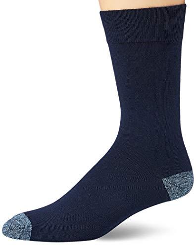 [Goodthreads] パターン柄 ソックス 靴下 5枚組 メンズ ブルー/イエロー/グレーの詰め合わせ Free Size