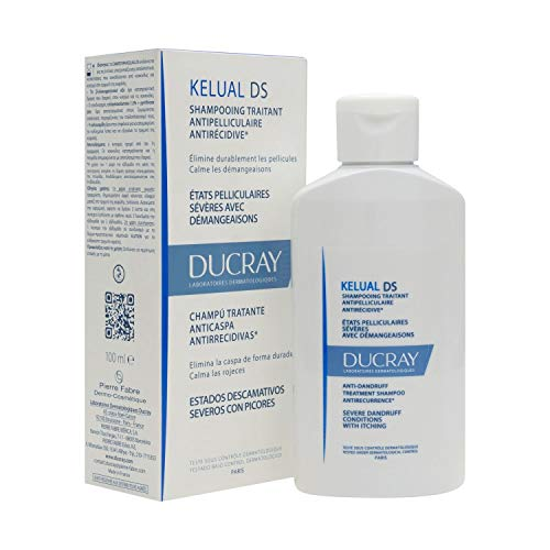 Pierre Fabre Ducray Kelual DS- Anti-Schuppen Shampoo - 100 ml, transparent