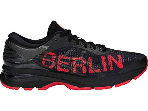Price comparison product image ASICS Men's Gel-Kayano 25 Berlin Running Shoes,  11M,  Black / Classic RED