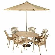 Bramblecrest Elliptical Table Dining Armchairs