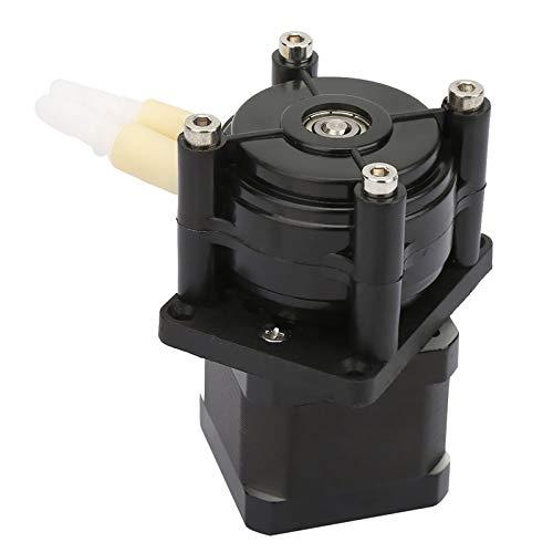 Micro Bomba peristáltica silenciosa, Bomba dosificadora peristáltica con rodamiento de Bolas, Motor Paso a Paso, Tornillos de Acero Inoxidable Hechos de PC para análisis de Laboratorio