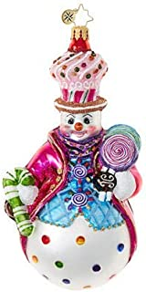 Christopher Radko Couldn't Be Sweeter Candy & Sweets Christmas Ornament [並行輸入品]