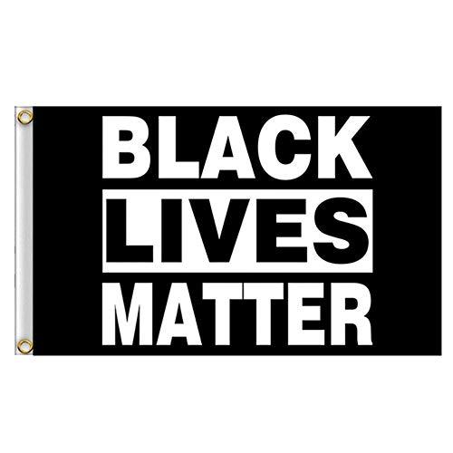 WUYANSE 3 'X 5' Black Lives Matter Flagge, Stoppen Sie Die Gewalt Flagge Mit Messing Ösen Verblassen Widerstandsfähig Außerhalb Veranda Flagge, BLM Peace Protest Outdoor Banner Wimpel