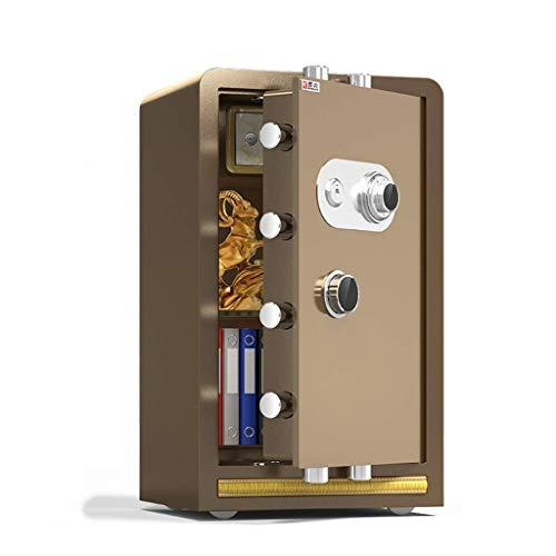 WYJW Gabinete Contraseña mecánica Caja Fuerte Grande Invisible Caja de Acero Caja de Almacenamiento de Dinero con Cerradura mecánica, Caja Fuerte Caja Fuerte para el hogar Inteligente d