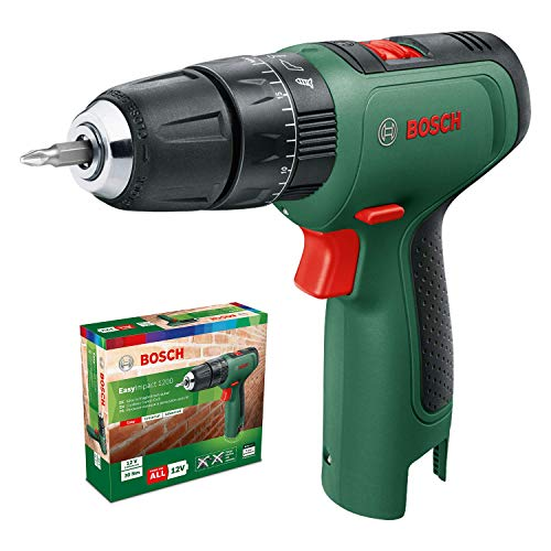 Bosch Cordless Hammer Drill EasyImpact 1200 (Without Battery, 12 Volt system, in Cardboard Box)