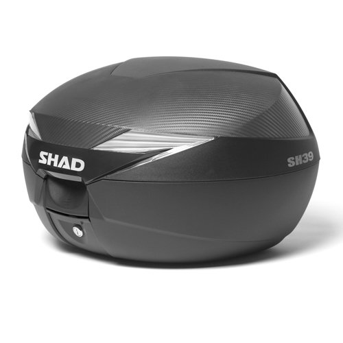 Shad D0B39106 Baúl Moto SH39 Carbono