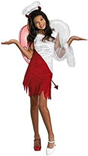 half angel half devil costume