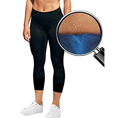 Amazon - 40% Off on Women Sauna Training Leggings Compression Execise Workout Yoga Pants