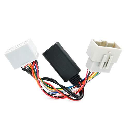 housesweet Adaptador de receptor de audio del coche auxiliar en bluetooth para volvo c30 c70 s40 s60 s70 s80 v40 v50 v70 xc70 xc90 adaptador de receptor