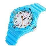 Reloj de bebé marca de moda niños reloj impermeable jalea...