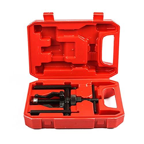 Ksodgun 3-Backen-Lagerabzieher Motorrad-Lagerabzieher Lagerabzieher Abzieher Motorradreparaturen Werkzeug mit Aufbewahrungsbox