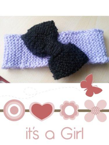 Strickanleitung Stirnband Baby-auch für Anfänger: Schritt für Schritt Anleitung