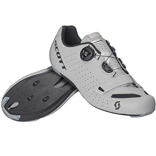 Scott Road Comp Boa 2020 - Zapatillas de ciclismo para mujer, color gris y negro