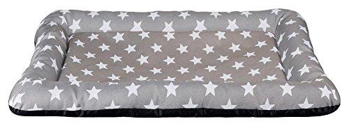 Trixie 37137 Liegematte Stars, 60 × 40 cm, taupe