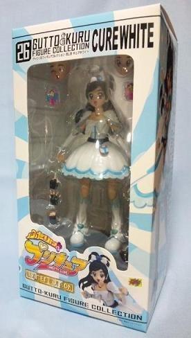 [WF 2010 Exclusive] Gutto Kuji Figure Collection 26 - Futari wa Pretty Cure [Cure White]