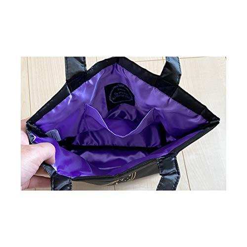 【予約販売】ツイステッドワンダーランド サテンランチバッグ ポムフィオーレ APDS5512_1