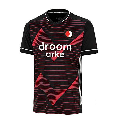 CFJJH 2020/21 Herren Fußballtrikot Feyenoord Heim/Auswärts Fußballtrikot , Unterstützer T-Shirt Sport Top Fan Sweatshirt Away-M