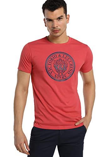 V & L DE VICTORIO & LUCCHINO  Camiseta Hombre Ropa Original para ti o para Regalar Nueva colección con diseños Casual algodón  Talla-Inch  119072