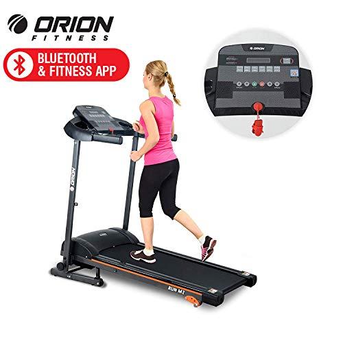 Orion Run M2 Tapis ROULANT Elettrico Pieghevole con Computer LCD, Bluetooth Fitness App, Altoparlanti INTEGRATI, Velocita Massima 10KM/H, Motore 1.5HP (2.5HP Picco)