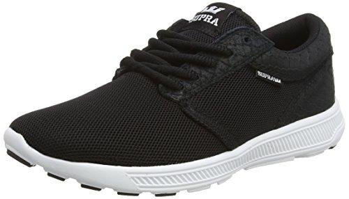 Herren Sneaker Supra Hammer Run Sneakers, Schwarz (BLACK  - WHITE   BLK), 41 EU