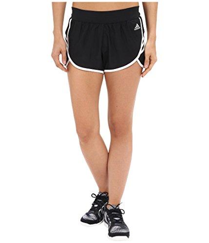 adidas Performance Women's Ultimate Woven 3 Stripe Shirt, XX-Large, Black/White