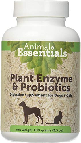 Animal Essentials Plant Enzyme & Probiotics Supplement for Dogs and Cats - 3.5 oz