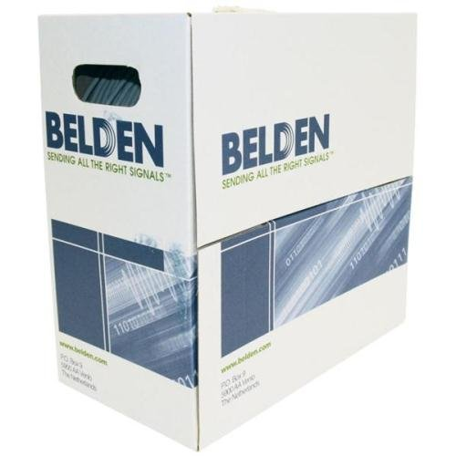 Gegevenskabel CAT6 UTP Belden grijs, doos met 305 m