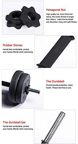 Yaheetech-30KG-Dumbbells-Adjustable-Dumbbells-Weight-Set-for-Men-and-Women-Dumbbell-Hand-Weight-Barbell-for-Bodybuilding-Fitness-Weight-Lifting-Training-Home-Gym-Equipment