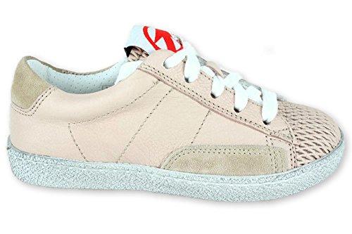 Momino VINO Crema Leder Sneaker ungefüttert Größe 27 EU