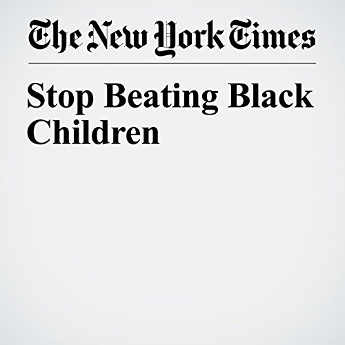 Stop Beating Black Children copertina
