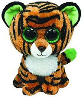 Stripes The Tiger TY Beanie Boo (Glitter Eyes) RED TAG