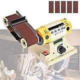 Enwebalay Lijadora Profesional Multifuncional, Eléctrica Máquina Pulir,Bricolaje 850W Potente Motor para Madera, Metal para Cortar, Moler, Pulir, Tallar DIY,A