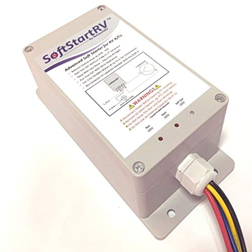 SoftStart SSRV3T Soft Starter for all RV Air Conditioner Enables Your to Start and Run on Small Generator Compatible with Honda EU2000i with Bonus Gift