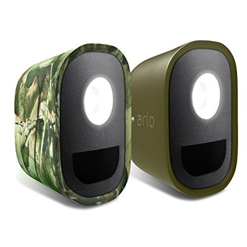 Pack de 2 coques camouflage pour Arlo Security Light résistent aux UV et étanches. l ALA1100-10000S