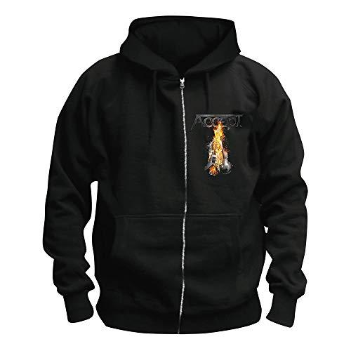 \m/-\m/ Accept - Symphonic Terror - Kapuzenjacke/Zipper Größe XL