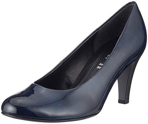 Gabor Shoes Damen Basic Pumps, Blau (Marine 76), 38 EU