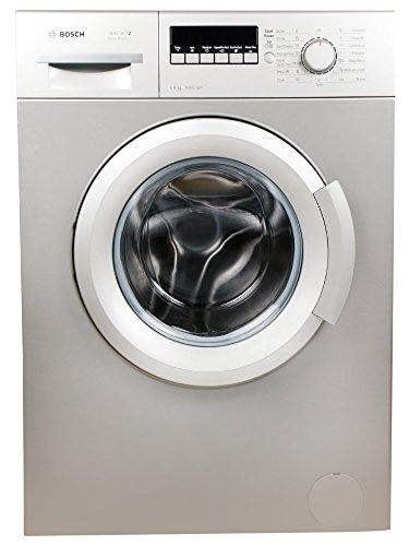 Bosch 6 kg Fully-Automatic Front Loading Washing Machine (WAB20267IN, Silver Inox)