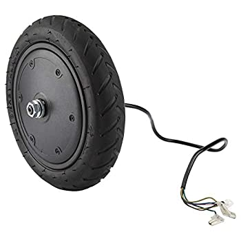 250W Motor Wheel Tire for Xiaomi M365 Electric Scooter Pneumatic E-Scooter Wheel Anti-Skidding Tire Shock Absorber Tyre Replacement Part Accessory