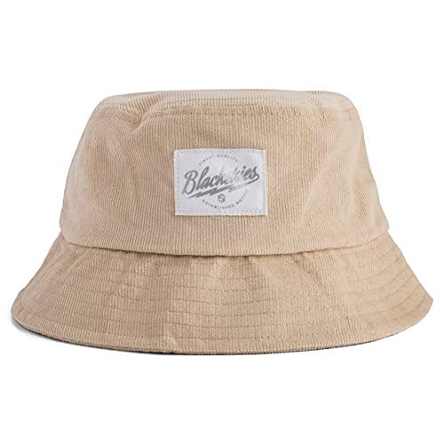 Blackskies Sombrero de cubo   Unisex Sombrero de sol Fisherman Boonie Bob Floral, Ivory, talla única
